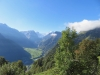 Vorder Selbstsanft  2750m,-Hinter Selbstsanft 3028m, Bifertenstock 3419m, Glarner Tödi 3571m