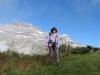 Marianne auf dem   Chnügrat 1850m; Vorderchammstock 2404m