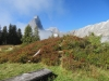 auf dem Seeblengrat 1845m; Vorder Eggstock 2449m, Bös Fulen 2802m, Rüchigrat 2506m