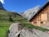 Alpgebäude  Seblen 1679m  ; Bös Fulen 2802m, Rüchigrat 2506m, Bösbächistock 2914m