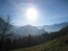 SIcht ins Rheintal: Regitzerspitz, Ellbogen