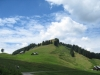 Sicht auf den Pfingstboden 1421m