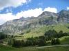 Blick auf die Schwägalp Passhöhe: irenspitz 2448m, Säntis 2501m, Grauchopf 2218m, Grenzchopf 2193m