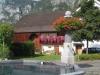 Dorfbrunnen in Berschis