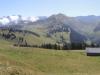 hi Albristhorn 2763m, Vordere Lohner 3049m, Altels 3629m, Rinderhorn 3453m, Steghorn 3146m  Grossstrubel 3243m; vo Wistätterhore 2362m, Giferspitz 2542m