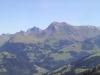 Vorderi Spillgerte 2252m, Hinderi Spillgerte 2475m, Rothorn 2410m, Türmlihore 2490m, Landvogthore 2641m, Gsür 2709m, Albristhorn 2763m, Vordere Lohner 3049m, Altels 3629m, Rinderhorn 3453m, Steghorn 3146m,Grossstrubel 3243m, Wildstrubel  3243m