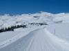 Winterwanderweg und Langlaufloipe;Magerrain 2523m, Gulmen 2317m, Rainisaltis  2293m