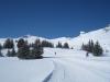 Weg zur Alp Fursch;  Gulmen 2317m, Rainisaltis  2293m