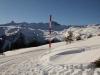 gegen Panüöl; Spitzmeilen 2501m, Wissmilen 2483m; Magerrain 2523m