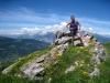 Bruni auf dem Joch Aussichtspunkt  2033m