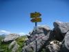 auf dem Joch Aussichtspunkt  2033m