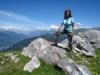 Marianne auf dem Joch Aussichtspunkt  2033m