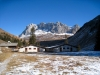 Alp Untersäss 1607m mit Wiss Platte 2628m, Schijenflue 2625m