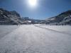 auf dem gefrorenen Partnunsee 1870m