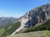 Sicht von Sareis 2003m; re Gamsgrat 2200m; Stachlerkopf und Schönenberg