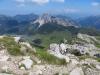 Sicht vom Augstenberg 2359m; hi Halinakopf, Gamsgrat