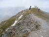 auf dem Piz Terza 2902m; Schneereste