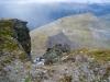 Blick vom Piz Terza anf die Fuorcla Sassalba
