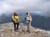 Vreni und Bea auf dem Piz Terza 2909m
