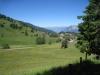 das Dorf  St. Margrethenberg mit Churfirsten