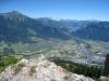 Vilan 2376m, Drusenfluh 2827m, Dri Türm 2754m, Sulzfluh 2871m