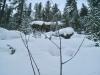 auf dem Weg nach Morteratsch; Winterstimmung