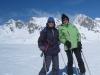 Marianne und Bruni auf dem  Plateau Nair 2656m