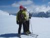 Niggi und Sabina  auf dem  Plateau Nair 2656m