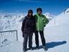Marianne und Bruni auf den Piz Nair 3057m, St. Moritz