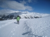 auf Muottas Muragl  2093m: Winterwanderweg