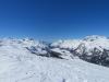 Sicht von Giand d'Alva 2643m; Margna, Silsersee, Piz Lizun 2518m, hi Piz Duan 3131m, Piz  Lunghin  2707m;Piz Lagrev