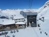 Sicht von der Seilbahn auf den Corvatsch: Murtel 2702m