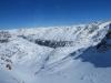 SIcht von der Seilbahn auf den  Corvatsch 3303m: Fuorcla Surlej