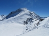 SIcht vom Corvatsch 3303m; Piz Sella 3506m, Piz Murtel 3433m, Piz Corvatsch 3451m