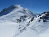 SIcht vom Corvatsch 3303m; , Piz Murtel 3433m, Piz Corvatsch 3451m