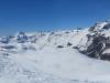 Panorama im Skigebiet Furtschellas; Blick auf Piz Lagrev und Piz Polaschin