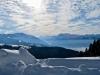 Sicht von der Alp Egg   1204m; Federispizu; Glarner Alpen