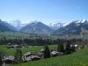 Blick über Schönried nach Gstaad; Wassergrat, Wispile, Stand