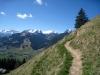 vo Schluchhorn 2579m, hi Sanetschhorn 2924m, vo Gstellihorn 2818n, vo Staldenhorn 2262m, Furggenspitz 2297m, Gummfluh 2293m, Le Rubli 2284m