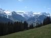 vo Wassergrat, Wispile; hi: iferspitz 2542m, Lauenenhore 2477m, Schnidehorn 2937m  -Wildhorn 3248m,  Geltenhorn 3065m Spitzhorn 2606m, Arpelistock  3036m, les Montons 2564m