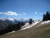Blick vom unterhalb dem Rellerli  1831m: o Giferspitz 2542m, Lauenenhore 2477m, Schnidehorn 2937m  - Wildhorn 3248m, Geltenhorn 3065m Spitzhorn 2606m, Arpelistock  3036m