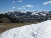 Gsür, Albristhorn; vo Gandlauenengrat;   Altels 3629m, Balmhorn 3699m, Rinderhorn 3453m, Steghorn 3146m  Grossstrubel 3243m, Wildstrubel 3243m