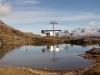 Blausee; Merezebachschije 3027m, Blinnenhorn 3373m, Rappenhorn 3158m, Hohsandhorn 3182m, Turbhorn 3245m, Ofenhorn 3235m