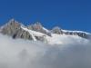 13 Fusshörner, Grosses Fusshorn 3626m, Rotstock 3701m, Geisshorn 3740m