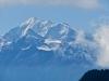 Weisshorn 4506m, vo Brunegghorn 3833m, Bishorn 4153m