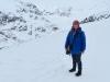 Marianne auf der Hohfluh mit Aletschgletscher