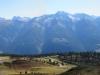 Bettmeralp Panorama; vo eggerhorn, Breithorn Bättlihorn, Huwetz, Hübschhorn Fletschhorn