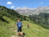 unterwegs gegen die Bergetenalp
