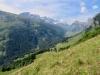 prächigte Aussicht von der Weide ; Clariden, Chammliberg, Glatten, Läckistock
