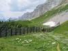 Sicht gegen den Klausenpass; Glatten,    Ober  Fritteren ;  Läckistock 2485m, Rot Nossen 2503m, Signalstock 2573m